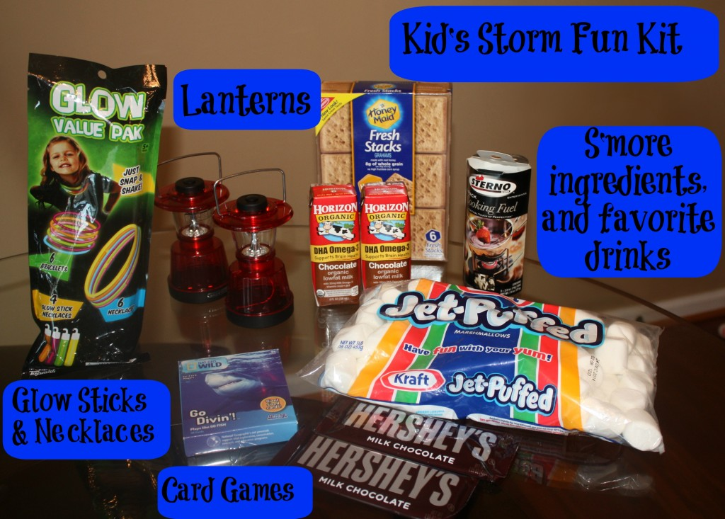 Kid's storm fun kit #PrepWithPower #CollectiveBias