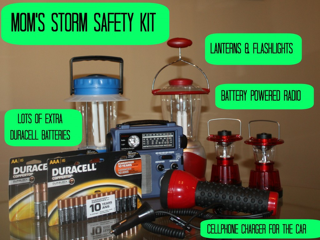 Mom's Storm Safety Kit #PrepWithPower #CollectiveBias